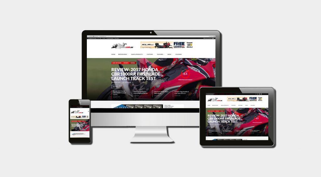 bike review motorcycle reviews website builder